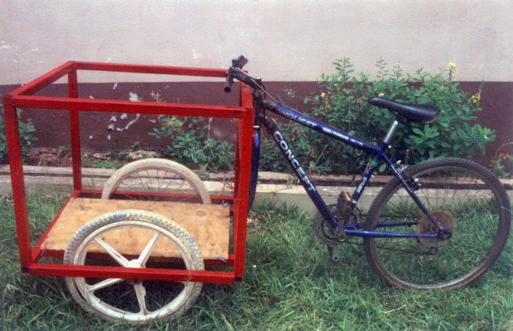 Homemade Cargo Bike